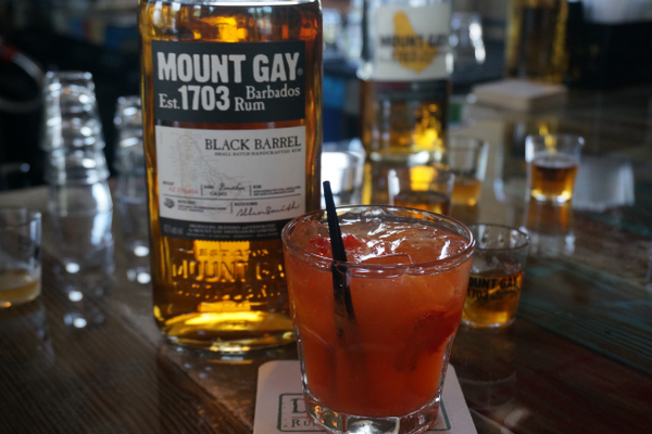 Above, Mount Gay 1703 can be used in cocktails or as a sipping rum, where its flavors shine. Photo by Gina Birch.