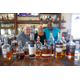 Rum aficionados Tom Bocchino, Kim McGonnell and Brian O'Neal at Doc Ford's. Photo by Gina Birch.