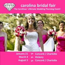 Carolina Bridal Fair - start Jan 21 2018 1250PM