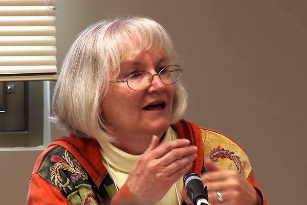 Mary Ann Kirk sat on many panels regarding Utah's arts. (Photo Utah Division of Arts and Museums)