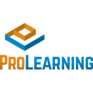 Pro learning logo stacked color