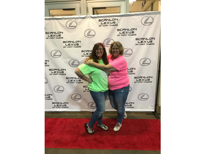 Perfectly Scrumptious owner Amanda Buckner-Wood and her mom who she describes as her biggest cheerleader and best free help Photo courtesy of Perfectly Scrumptious LLC