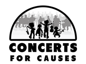 Main image concerts for causes logo