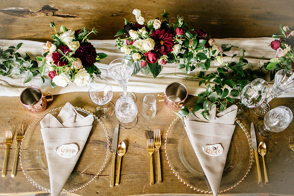 Photo by: Simply Smith Photography; Florals: Noonans Designs (San Luis Obispo); Styled: Ribbon & Leaf Events