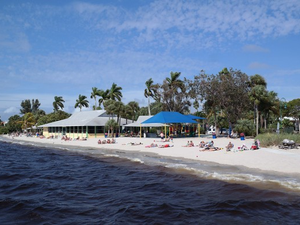 Cape Corals Yacht Club Community Park has its own white sandy beach on the banks of the Caloosahatchee River Photo courtesy of Cape Coral Parks  Recreation