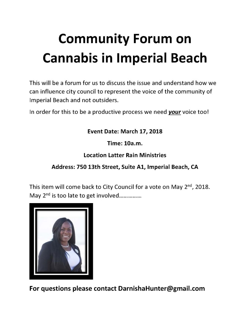 Community 20forum 20on 20cannabis 20in 20imperial 20beach