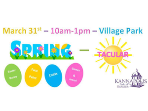 Spring-Tacular Celebration - start Mar 31 2018 1000AM