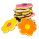 Shortbread Flower Cookies