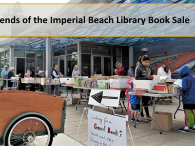 Friends Of The Imperial Beach Library Held A Book On Saay To Raise Money For Special Programs At