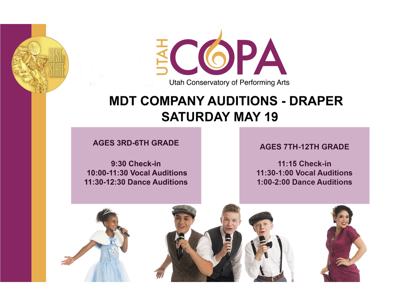 Final draper mdt audition flyer bothsides