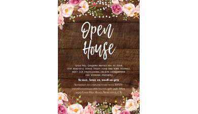 Gold hill gardens open house april 22 2018