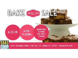 Charity Bake Sale - start Jun 23 2018 0630PM
