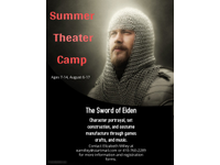 Summer 20theater 20camp 20poster 20with 20crafts