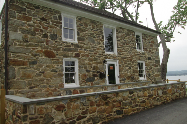 A restored mill is now a museum dedicated to the history of Perry Point.