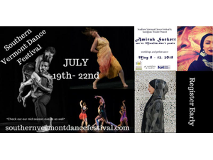 Southern Vermont Dance Festival 6th Annual Passes - start Jul 19 2018 0400PM
