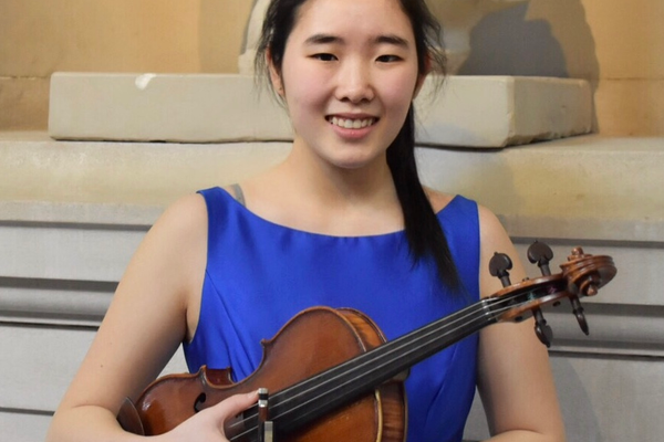 Violinist Kim Wins International and Regional Competitions
