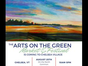 Arts on the Green Market  Festival - start Aug 25 2018 1000AM