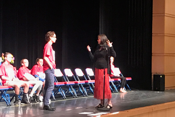 The competition was intense at the 5th Annual TEF Townwide Spelling Bee.