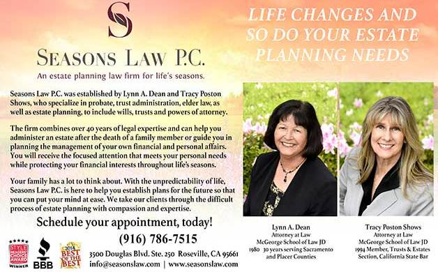 Seasons Law P C  | Style: Roseville Granite Bay Rocklin