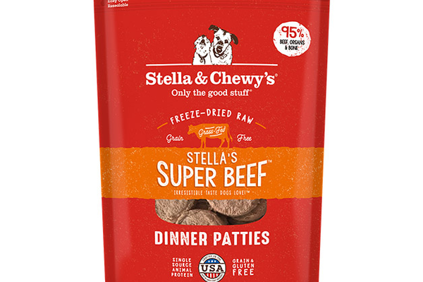 Stella & Chewy's Freeze Dried-Raw Super Beef Dinner Patties