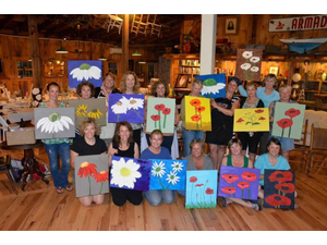 Sip n Dip Painting Party - start Jul 15 2018 0100PM