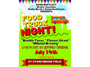 Food Truck Night at Stoneybrook - start Jul 14 2018 0430PM