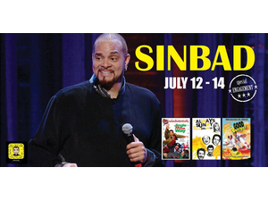 Naples Presents Comedian Sinbad - start Jul 12 2018 0700PM
