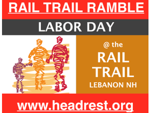 ANNUAL RAIL TRAIL RAMBLE TO BENEFIT HEADREST - start Sep 03 2018 0900AM
