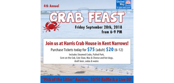 Crab feast cover