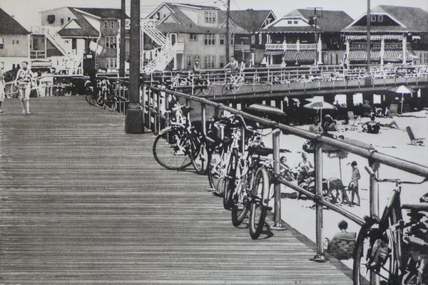 'Boardwalk in Ocean City, N.J.' by Kevin Cummins.