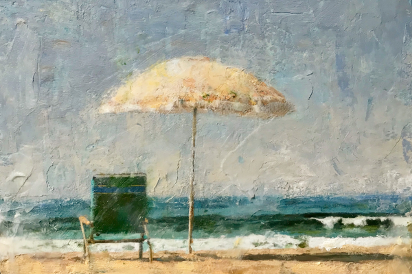 'Sun Day Umbrella' by Randall Graham.