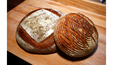 Sourdough miche   boule