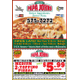 Order Online and Get a Medium 2-Topping for Just 599 at Papa Johns Pizza in Victoria - Apr 07 2015 1152PM