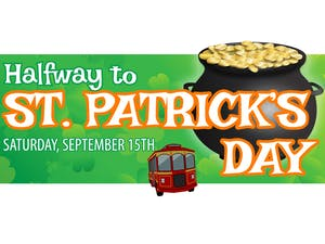Halfway to St Patricks Day Pub Crawl - start Sep 15 2018 0700PM