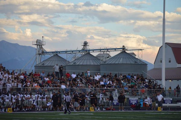 Alta had a strong contingent of fans for a season-opening away game.