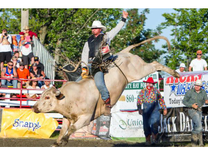Rodeo Show at The Hopkinton State Fair  - start Sep 03 2018 0300PM