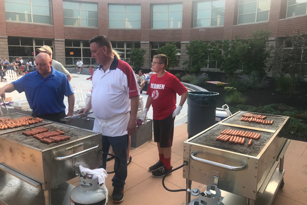 2018 Tewksbury Police National Night Out at Tewksbury Memorial High School (Bill Gilman photo)