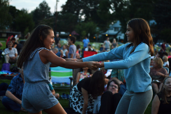 Infectious Motown hits got the crowd dancing, both young and old alike.