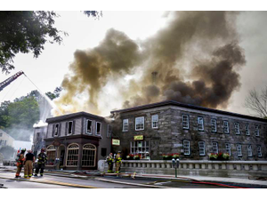 The Vermont Standard Endures One Month After Fire