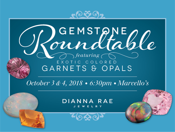 Gemstone roundtable face event calendar image