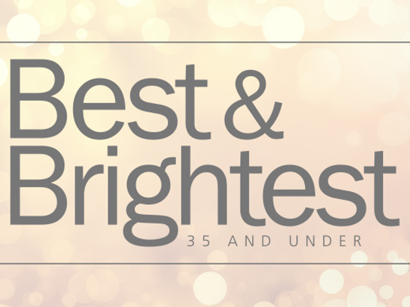 2018 Best And Brightest 35 And Under Greenville Business Magazine