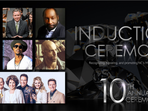 10th Annual NC Music Hall of Fame Inductions - start Oct 18 2018 0715PM
