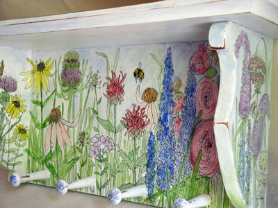 Painted 20shelf 20pegs 205