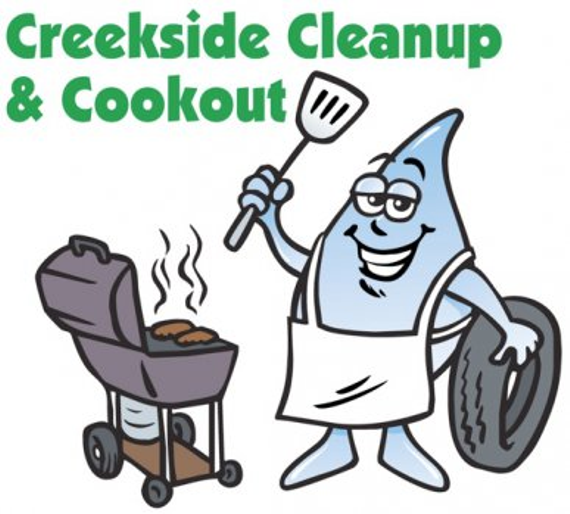 Creeksidecleanupandcookout