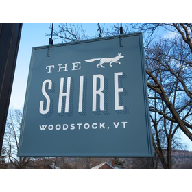 The shire woodstock sign