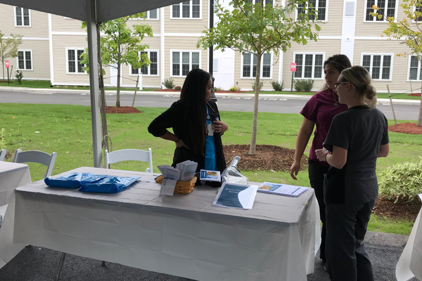 The Community Open House at the Circle Health Dracut facility had plenty of fun, family activities and health information.