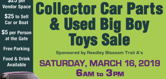 Selma swap collector car parts used big boy toys sale
