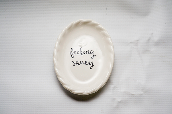 """Feeling"" Saucy"" Spoon Rest"