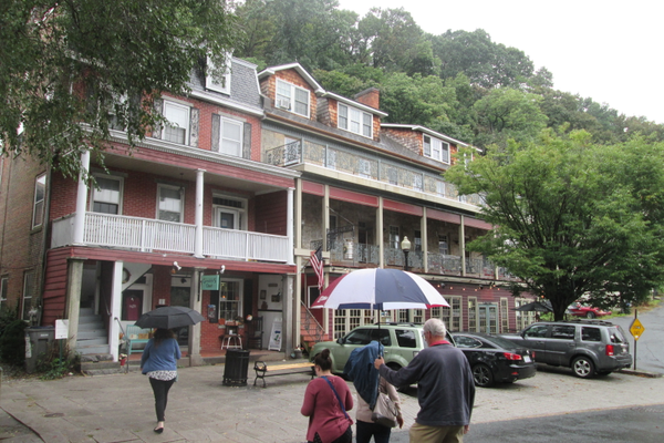 Visitors can take a walking tour of Port Deposit and discover the town's rich history.