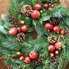 Fresh 20wreath 20making